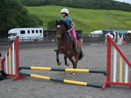 Group jumping lesson
